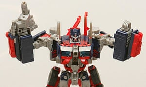 Optimus Prime Transformers toy