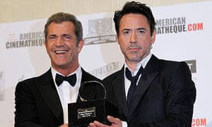 Mel Gibson and Robert Downey Jr