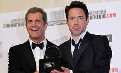 Mel Gibson and Robert Downey Jr