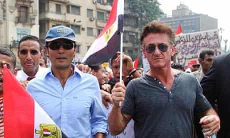 Sean Penn in Egypt