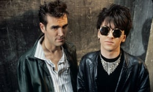 Morrissey and Johnny Marr of the Smiths