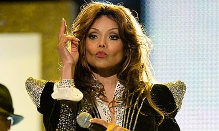 LaToya Jackson performs at Michael Forever concert in Wales