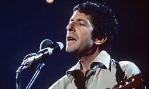Leonard Cohen in 1973