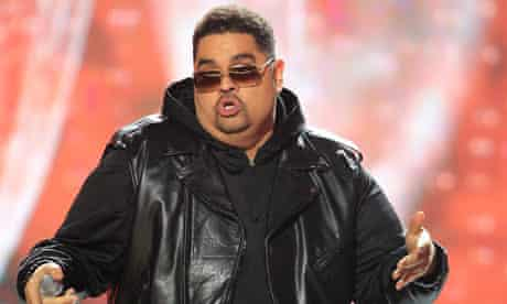Heavy D performing at the BET Hip Hop awards