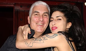 Amy and Mitch Winehouse in October 2010