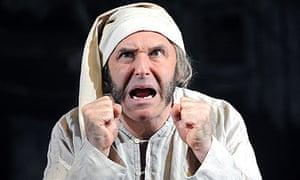 John Ramm as Scrooge in A Christmas Carol