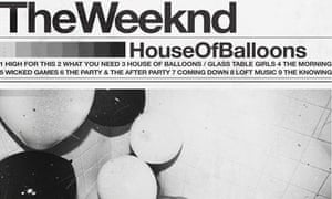 Best Albums Of 2011 No 8 The Weeknd House Of Balloons Music