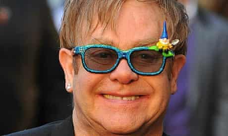 Sir Elton John at the Gnomeo and Juliet premiere