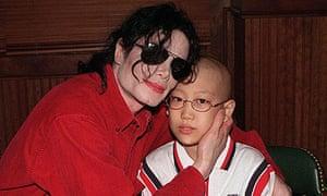 Michael Jackson and a South Korean fan