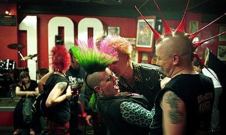100 Club punk festival in 2001