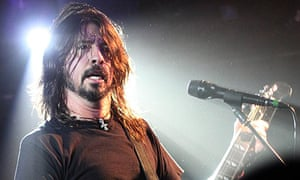 Dave Grohl of Foo Fighters at Dingwalls