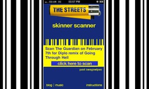 Get five free Streets tracks using the Skinner Scanner