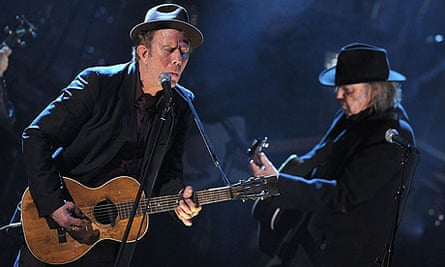 Tom Waits and Neil Young