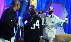 Nate Dogg with Warren G and Snoop Dogg in 2004