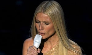 Gwyneth Paltrow performs at the 2011 Oscars