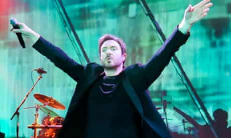 Simon Le Bon of Duran Duran performs in London