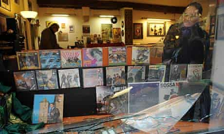 Pete Doherty linked to record shop burglary