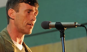Irish Traveller singer Thomas McCarthy