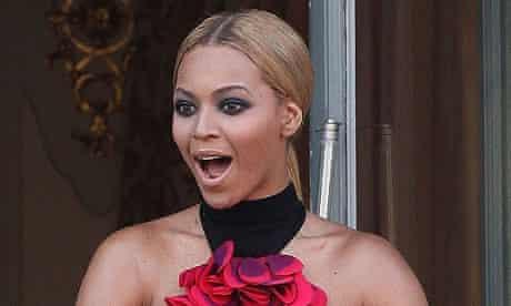 Beyonce Knowles in Paris