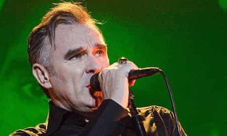 Morrissey performs in Berlin in 2009