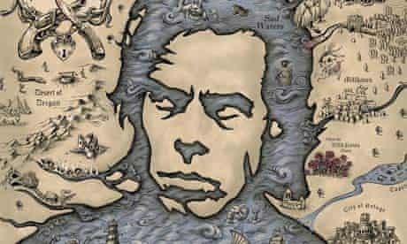 A detail from Emek's 2006  Nick Cave poster, which took three months to complete