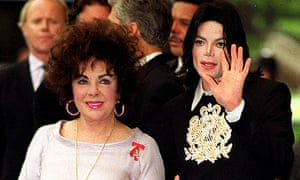 Elizabeth Taylor and Michael Jackson in 2000
