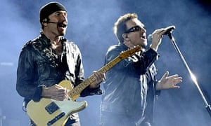 The Edge and Bono from U2