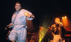 Bez and Shaun Ryder of The Happy Mondays