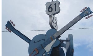 The crossroads at Clarksdale where Robert Johnson sold his soul