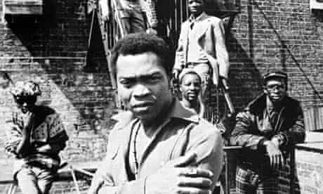 Fela Kuti with his Africa 70 in 1975