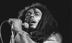 Bob Marley at the One Love Peace concert, Jamaica, 22 April 1978