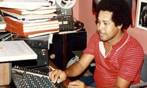 King Jammy in his studio