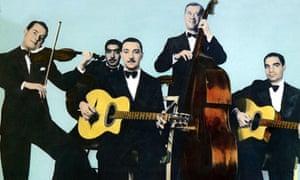 Django Reinhardt with the Hot Club Quintet