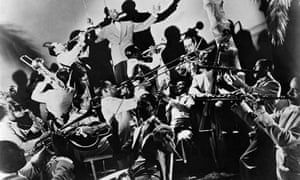 Duke Ellington and his band in the 1930s