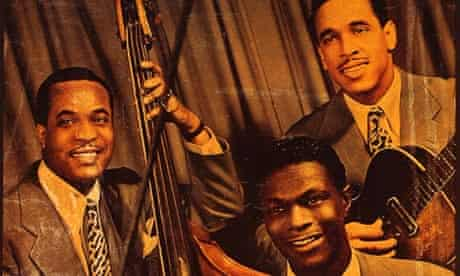 Nat King Cole and his trio.