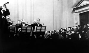 Benny Goodman and his orchestra at Carnegie Hall, New York, 1938