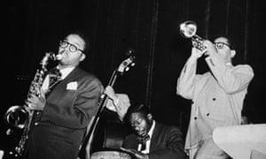 Chano Pozo and Dizzy Gillespie