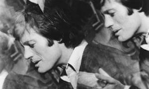 Peter Fonda in a scene from 'The Trip', 1966