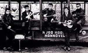Pete Best, George Harrison, John Lennon, Paul McCartney, Stuart Sutcliffe