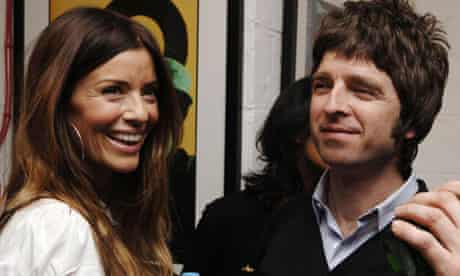 Married with children ... Noel Gallagher and Sara MacDonald.