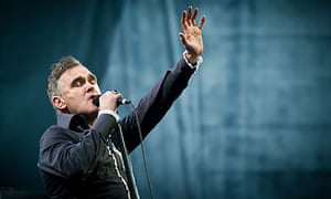 Morrissey at Glastonbury 2011