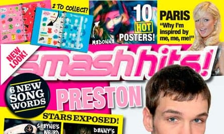 The cover of the final edition of the teenage music magazine Smash Hits