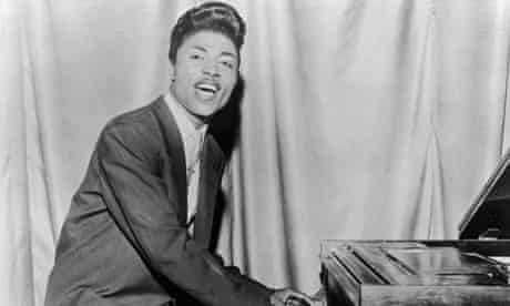Little Richard Performs At Piano