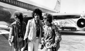The Jimi Hendrix Experience at London Airport