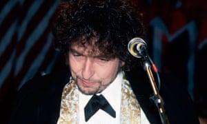 Singer/songwriter Bob Dylan