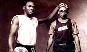 Michael Jordan and Spike Lee