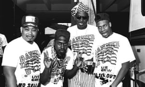 Luther Campbell and 2 Live Crew during 1989 MTV Video Music Awards