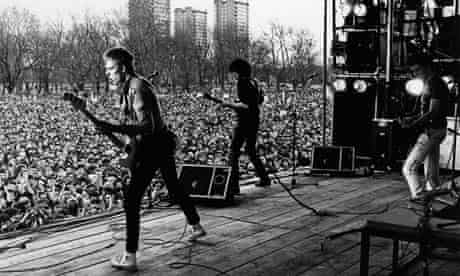 The Clash at the Rock against Racism carnival