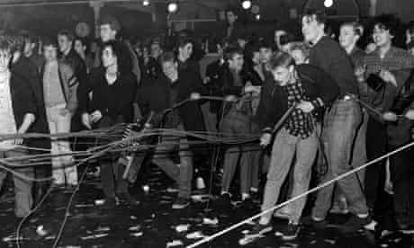 The 'riot' at a Jesus and Mary Chain, 1985