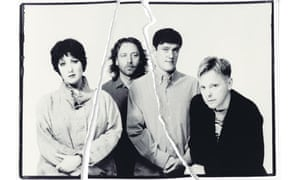 New Order: left to right, Gillian Gilbert, Peter Hook, Stephen Morris and Bernard Sumner